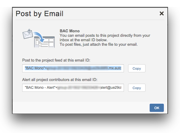 Project email