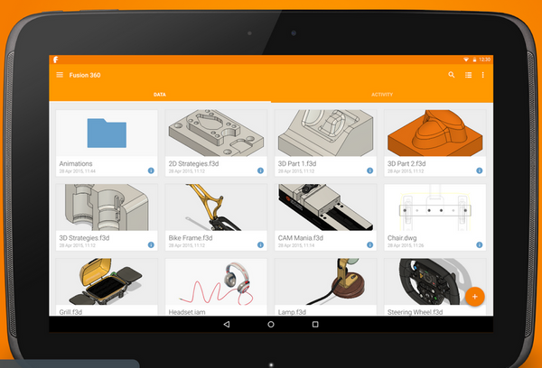Fusion 360 for Android